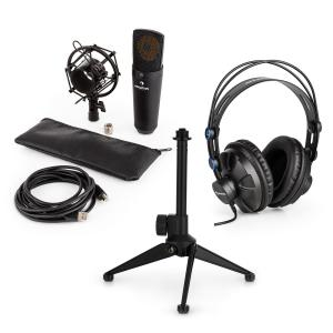 MIC-920B Juego de micrófono USB V1 Auriculares Micrófono de condensador Soporte