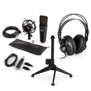 MIC-920B Juego de micrófono USB V2 Auriculares Micrófono de condensador Soporte Protector antipop
