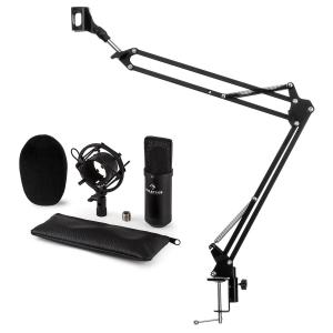 CM001B Microphone Set V3 Condenser Microphone Microphone Arm Black