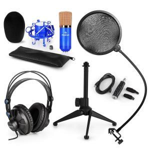 CM001BG Mikrofon-Set V2 Kopfhörer Kondensatormikrofon blau