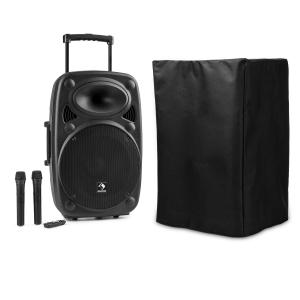 "Streetstar 15 Mobile PA System with Protective Cover 15""-Subwoofer Trolley BT USB"