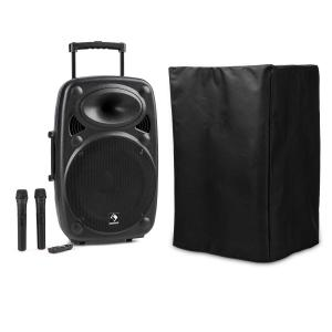 "Streetstar 12 Mobile PA System with Protective Cover 12""-Subwoofer Trolley BT USB"
