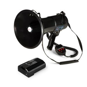 80W Megáfono MEGA080USB negro Incluye batería