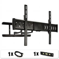Soporte pared LDA03-466 TV LCD y LED 32-60 pulgadas. Negro
