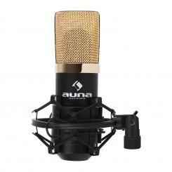 MIC-900BG Micrófono de condensador USBnegro/dorado
