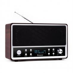 Auna Charleston radio digitale DAB+ FM RDS sveglia