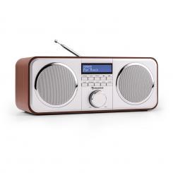 Auna Georgia DAB-Radio DAB+ FM AUX Ciliegio