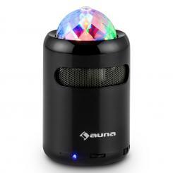 Auna Discohead Altoparlante LED Bluetooth Wireless MP3 Radio Vivavoce