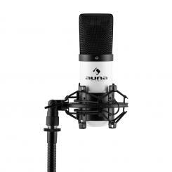 MIC-900WH Micrófono de condensador USB Cardioide Estudio Blanco