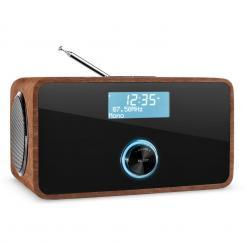 auna DABStep DAB/DAB+ Digital Radio Bluetooth OUC RDS Sveglia Noce