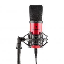 MIC-900-RD USBcondensador micrófono rojo Studio