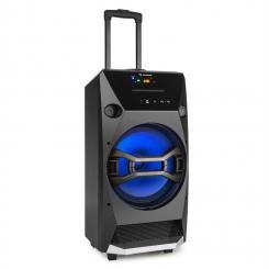 Brooklyn Beat Altavoz móvil para fiestas 100W RMS Bluetooth USB SD CD FM