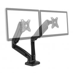 "LDT13-C024USB Soporte de mesa para doble monitor LED LCD 27"" 2x6,5 kg"