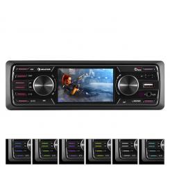 """MD-350BT Radio para coche Sin cubierta BT USB SD MP3 4x45W máx. 3""""LCD AUX Mando a distancia"""