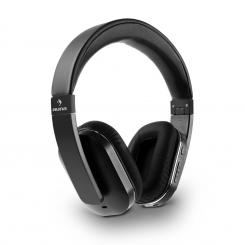 Elegance ANC Auriculares Bluetooth-NFC Manos libres Bloqueo del ruido Negro