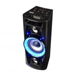 PPS 35 Sistema de audio Altavoz batería BT USB MP3 AUX FM Micrófono LED de guitarra