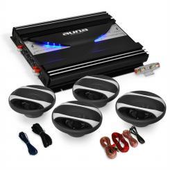 Equipo sonido coche Black Line 4.0 2800 W