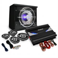 Black Line 540 Equipo sonido coche 4.1 5000W