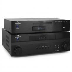 """""""Supreme Tower"""" Auna receptor amplificador home cinema y cd"""