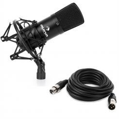 CM001B Micrófono condensador de estudio XLR negro