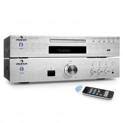 """Elegance Tower Bluetooth"" Set Hi-Fi 2.0 | Reproductor de CD y MP3 | Amplificador 600W"