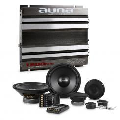 CS-Comp-8 Set de altavoces Hi-Fi para coche con amplificador de 2 canales