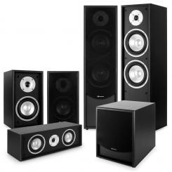 Black-Line 5.1 Set Home cinema soundsystem negro