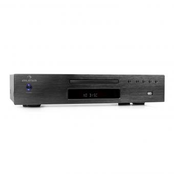 AV2-CD509 Reproductor CD Hifi Radio USB Negro