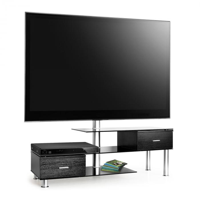 cheap lk tvmeuble table basse en verre support cran tv lcd ue with support tv meuble. Black Bedroom Furniture Sets. Home Design Ideas