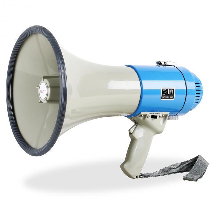 Megáfono con sirena 60W