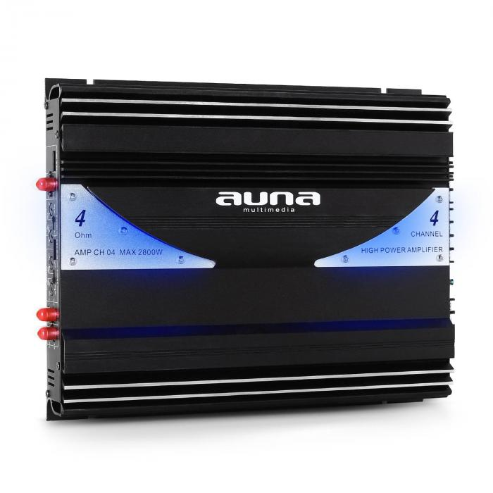 AMP-CH04 Car Amplifier 4 Channel 2800W PMPOHifi System