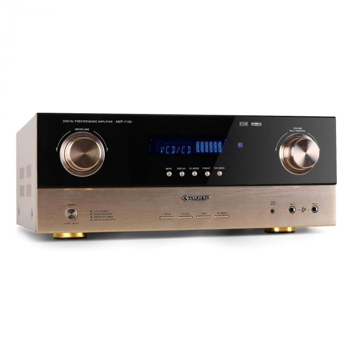 ampli PA surround 7.1 5.1 home cinema hifi receiver AV