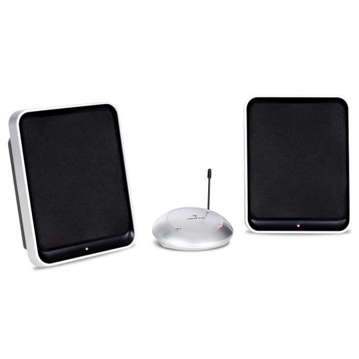 Active UHF Wireless Speaker Stereo System 2 x 200W PMPO
