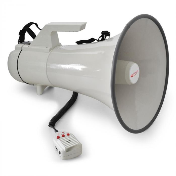 Mégaphone Porte Voix 45W 1,5km Enregistrement