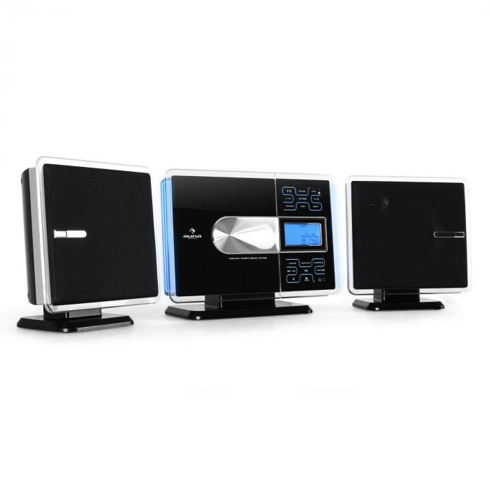 VCP-191 USB Stereo System MP3 CD SD AUX Silver