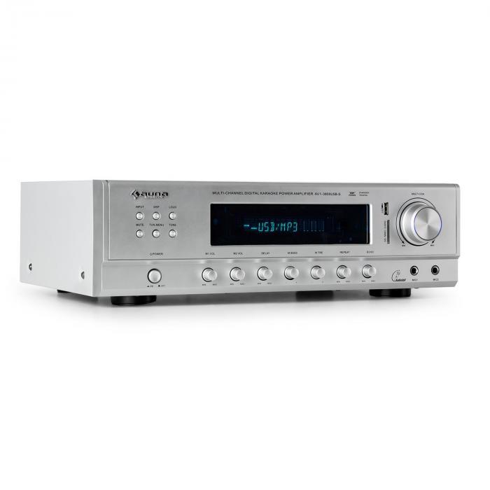AMP-3800-S 5.1-Kanal-Surround-Receiver 600W grey