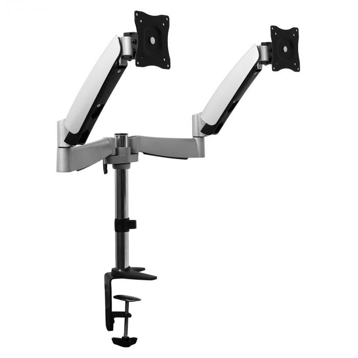 LDT04-C024 Table Desktop Swing Arm Mount for 2 LCD Monitors