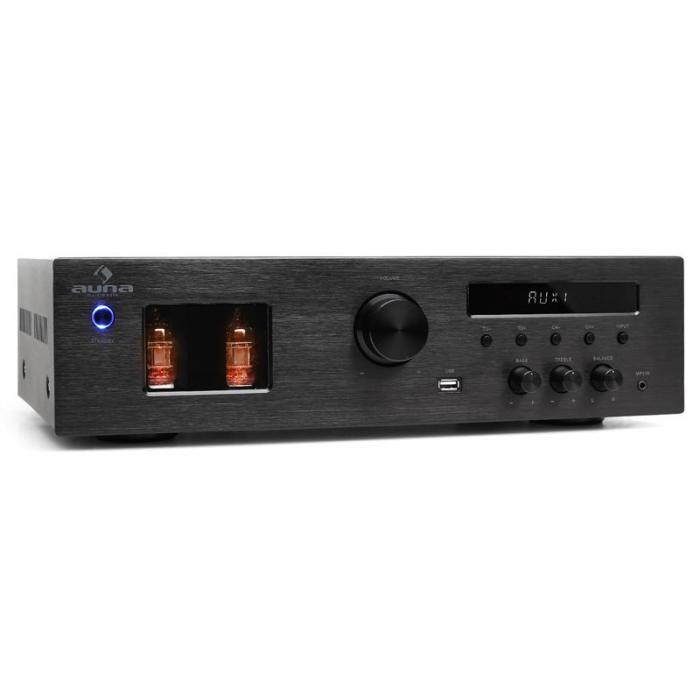 Tube 65 HiFi Stereo Tube Amplifier MP3 USB Receiver 600W