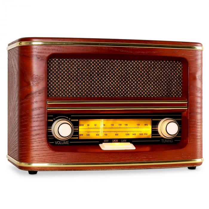 belle epoque 1905 retro radio fm am purchase online. Black Bedroom Furniture Sets. Home Design Ideas