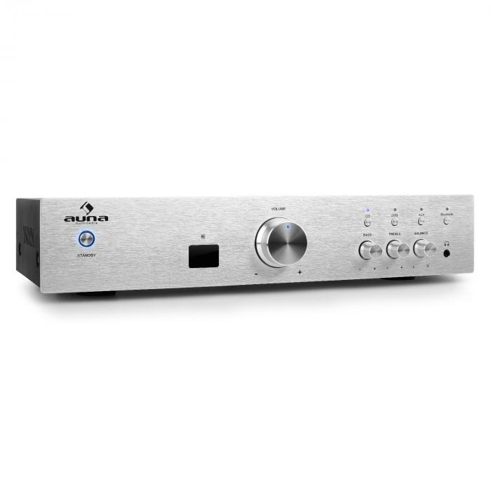 AV2-CD508BT amplificatore HiFi AUX bluetooth argento