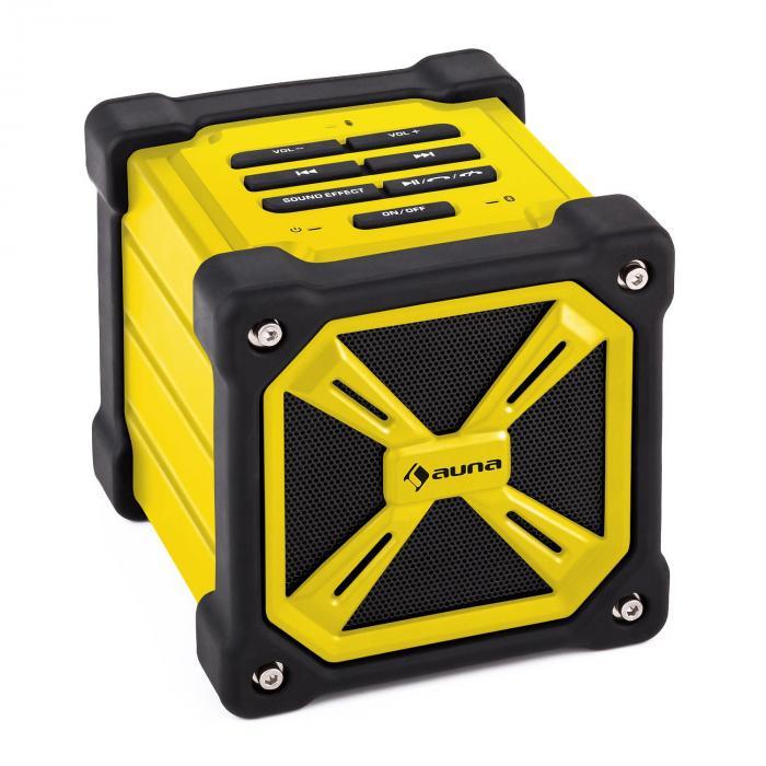 TRK-861 altoparlante bluetooth portatile con batteria giallo