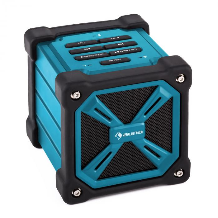TRK-861 Portable Bluetooth Speaker Battery Outdoor Blue