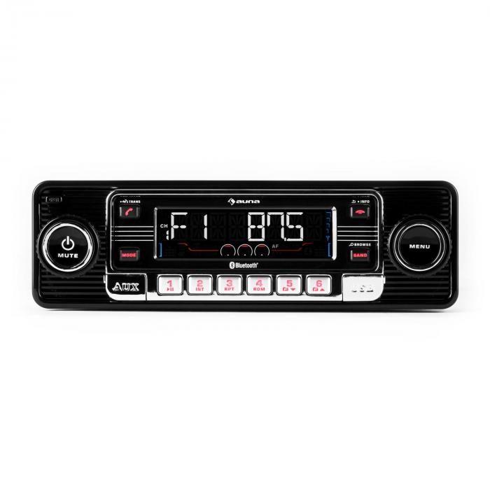 rmd sender one autoradio bluetooth usb sd cd aux nera nero. Black Bedroom Furniture Sets. Home Design Ideas