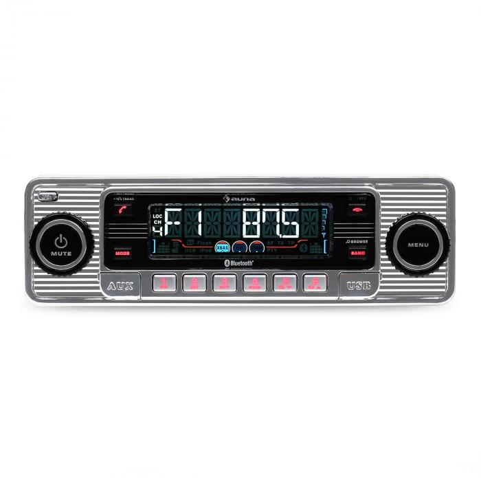rmd sender two autoradio bluetooth usb sd mp3 cd retro. Black Bedroom Furniture Sets. Home Design Ideas