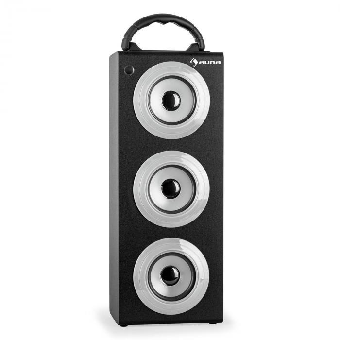 Beachboy XXL Bluetooth-Lautsprecher silber USB SD AUX UKW