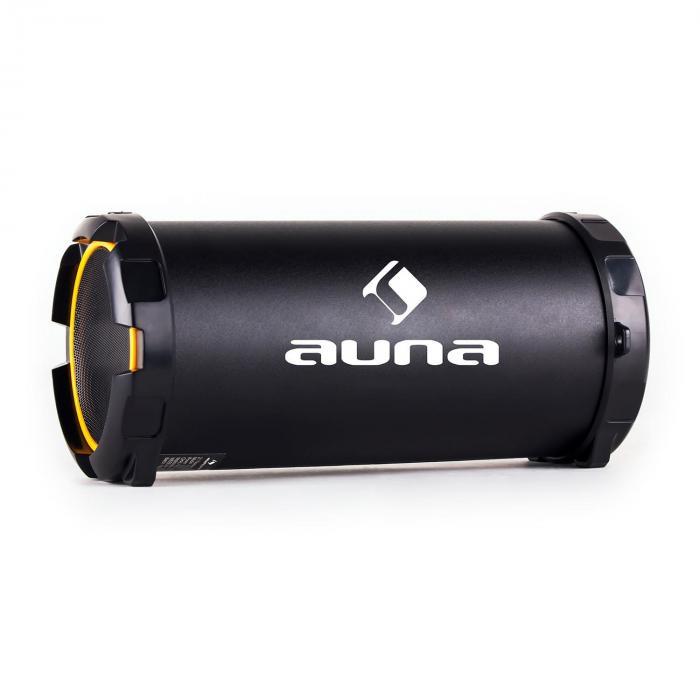 Dr. Beat 2.1 Altavoz bluetooth USB SD AUX FM batería dorado