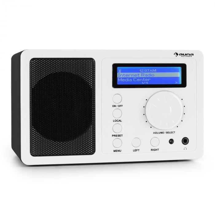 IR-130 Internet radio W-LAN Streaming Bianco
