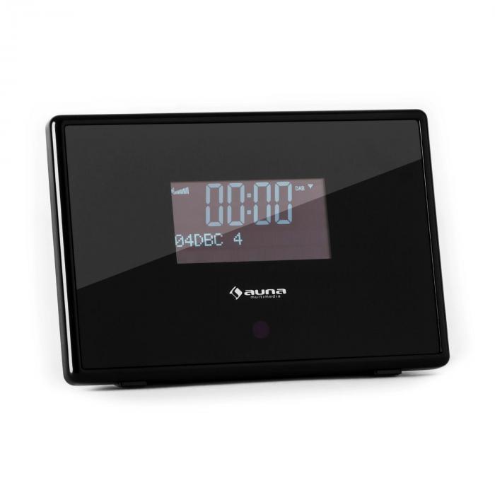 Dabstar DAB / DAB + Digital Clock Radio FM RDS Alarm Black
