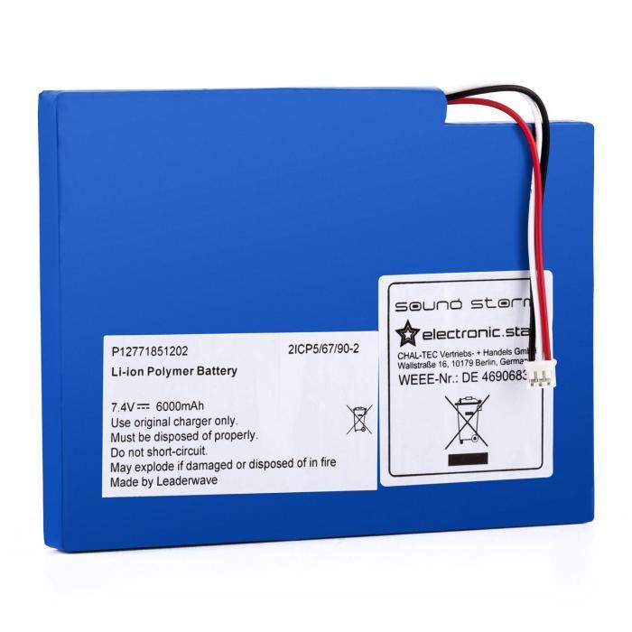 Batteria di ricarica accumulatore litio polimero per l'altoparlante Soundstorm Boombox