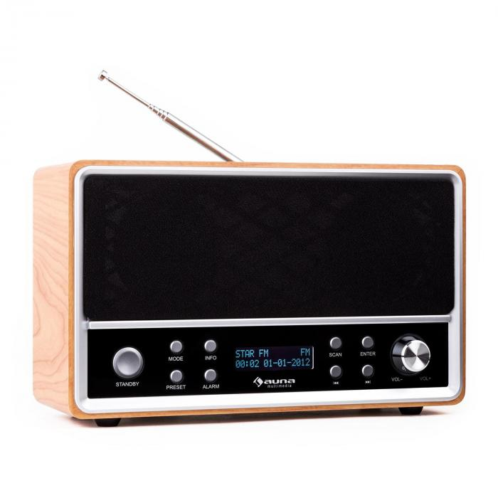 charleston dab portable digital radio fm rds alarm clock purchase online. Black Bedroom Furniture Sets. Home Design Ideas